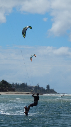 Caloundra Cruise Kite Surfer